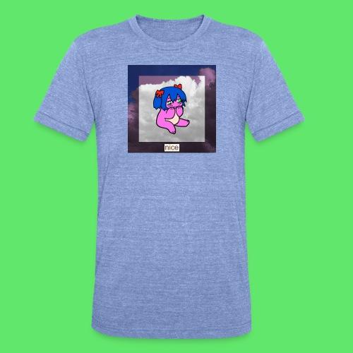 le nice girl - Unisex Tri-Blend T-Shirt by Bella & Canvas