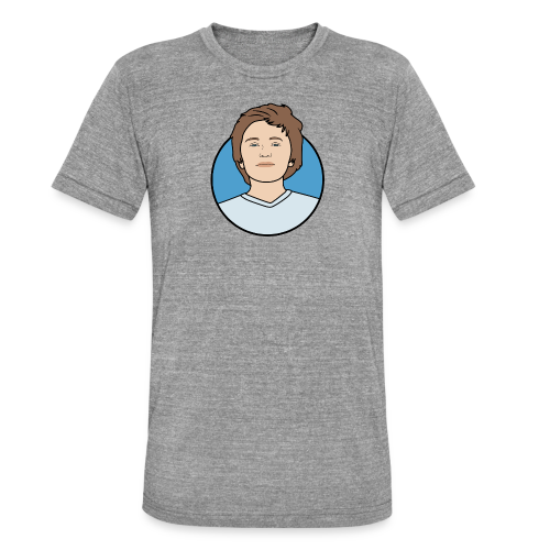 Logo - Unisex tri-blend T-shirt van Bella + Canvas