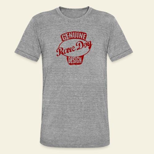 raredogdesign - Unisex tri-blend T-shirt fra Bella + Canvas