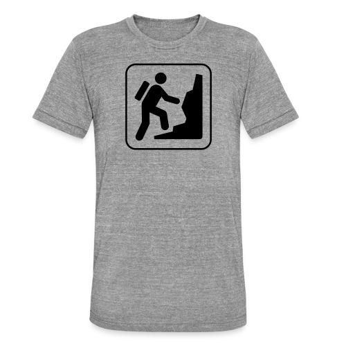 Bergwandern_logo - Unisex Tri-Blend T-Shirt von Bella + Canvas