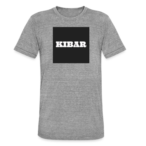 KIBAR - Unisex tri-blend T-shirt fra Bella + Canvas