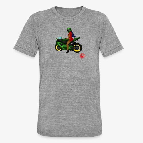 moto - Unisex Tri-Blend T-Shirt by Bella & Canvas