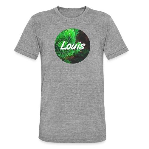 Louis round-logo - Unisex Tri-Blend T-Shirt von Bella + Canvas