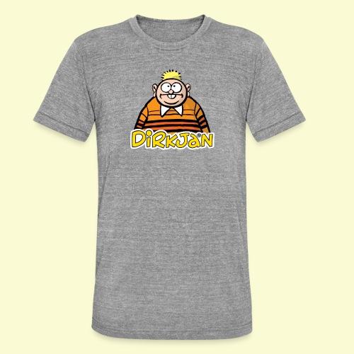 DIRKJAN Half - Unisex tri-blend T-shirt van Bella + Canvas