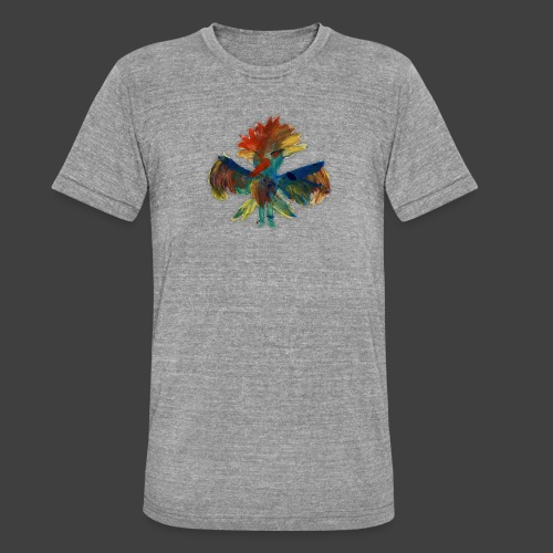 Mayas bird - Unisex Tri-Blend T-Shirt by Bella & Canvas