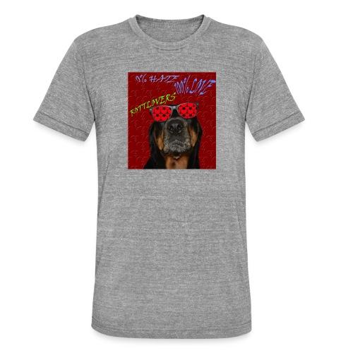 Rottlovers gafas - Camiseta Tri-Blend unisex de Bella + Canvas