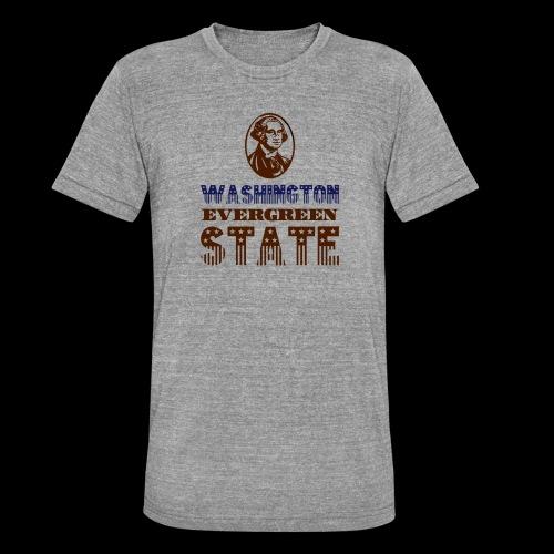 WASHINGTON EVERGREEN STATE - Unisex Tri-Blend T-Shirt by Bella & Canvas