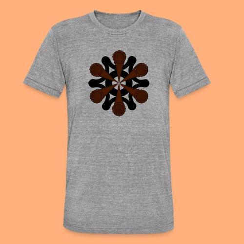 vortex - T-shirt chiné Bella + Canvas Unisexe