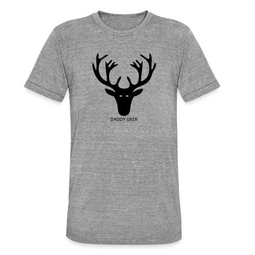 DADDY DEER - Unisex Tri-Blend T-Shirt by Bella & Canvas