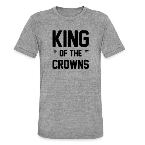 King of the crowns - Unisex tri-blend T-shirt van Bella + Canvas