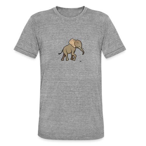 African elephant - Unisex Tri-Blend T-Shirt by Bella & Canvas