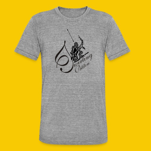 twirling b 2 - T-shirt chiné Bella + Canvas Unisexe