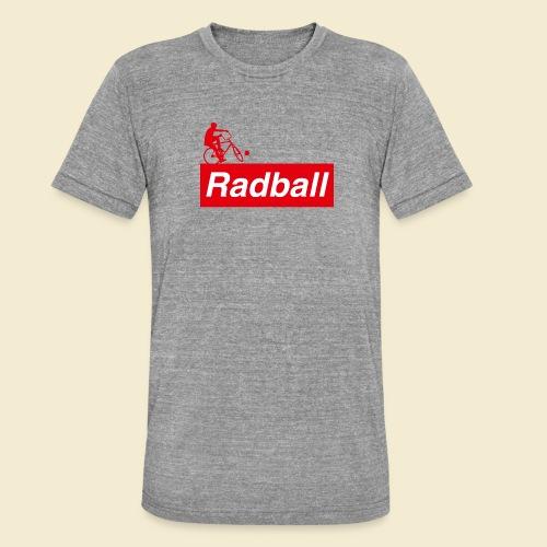 Radball | Red - Unisex Tri-Blend T-Shirt von Bella + Canvas