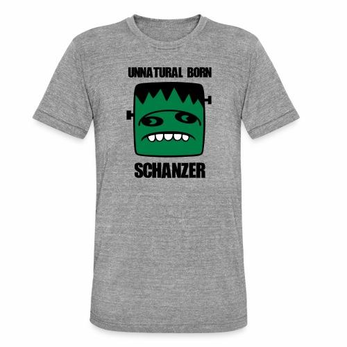 Fonster unnatural born Schanzer - Unisex Tri-Blend T-Shirt von Bella + Canvas