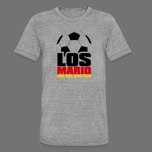 Piłka nożna - Idź Mario, hau przenoszenia rzeczy w - Koszulka Bella + Canvas triblend – typu unisex