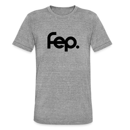 FEP. Logo t-shirt - Unisex Tri-Blend T-Shirt by Bella & Canvas