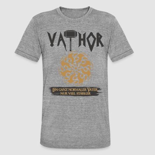 Vathor Vater Vatertag Geschenkidee - Unisex Tri-Blend T-Shirt von Bella + Canvas
