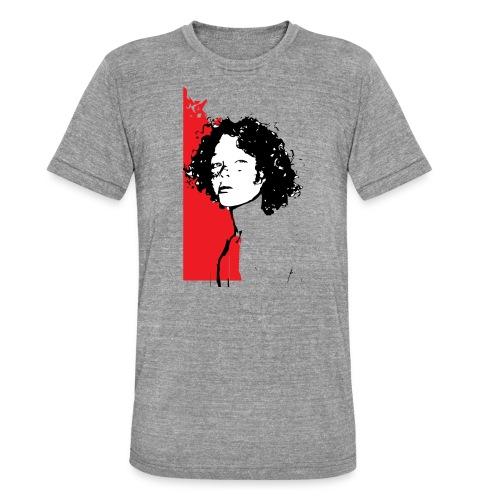 L'enfant rouge représente la terre rouge d'Afrique - T-shirt chiné Bella + Canvas Unisexe
