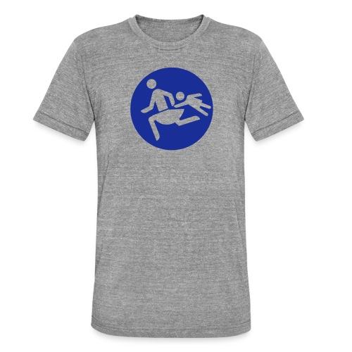 Running Mamas - Unisex Tri-Blend T-Shirt von Bella + Canvas