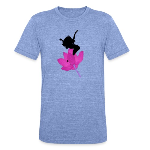 Jump life - Camiseta Tri-Blend unisex de Bella + Canvas