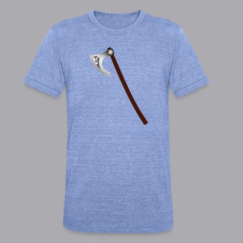 Wikinger Beil - Unisex Tri-Blend T-Shirt von Bella + Canvas