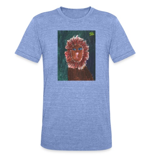 Lion T-Shirt By Isla - Unisex Tri-Blend T-Shirt by Bella & Canvas