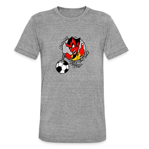 ontwerp_vrijgezellen3 - Unisex tri-blend T-shirt van Bella + Canvas