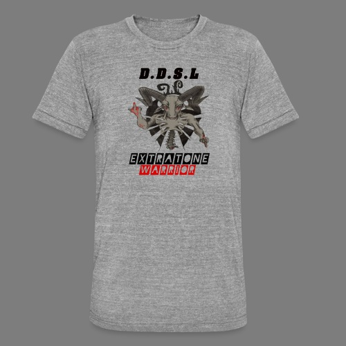 DDSL E W M.A.X - Unisex tri-blend T-shirt van Bella + Canvas