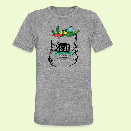 SSBG STARTER BAG - Bella + Canvasin unisex Tri-Blend t-paita.