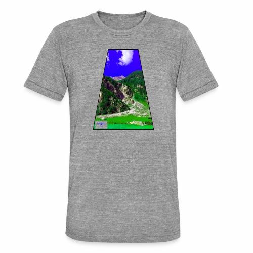 BergAUsBlick ValC - Unisex Tri-Blend T-Shirt von Bella + Canvas