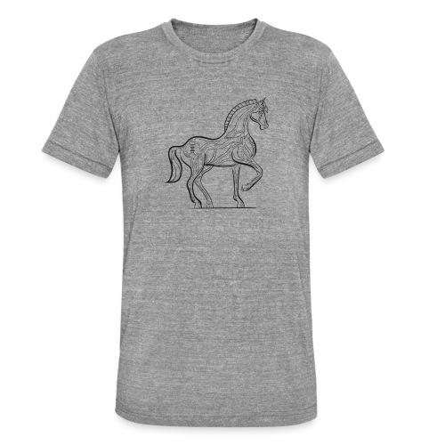 Equus Pferd - Unisex Tri-Blend T-Shirt von Bella + Canvas
