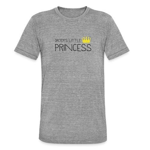 Daddy's little Princess - Unisex Tri-Blend T-Shirt von Bella + Canvas