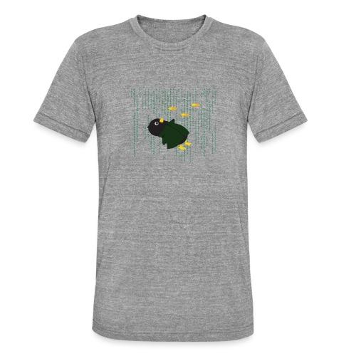Pingouin Bullet Time - T-shirt chiné Bella + Canvas Unisexe
