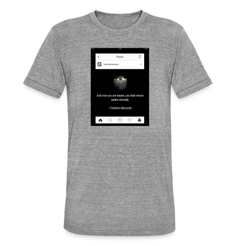 81F94047 B66E 4D6C 81E0 34B662128780 - Unisex Tri-Blend T-Shirt by Bella + Canvas