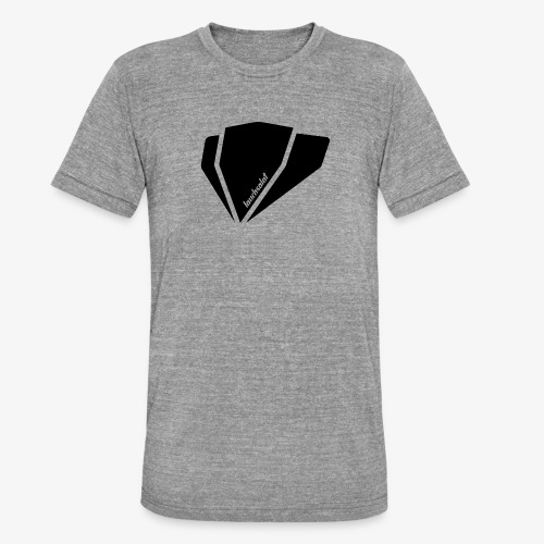 signature - Unisex Tri-Blend T-Shirt von Bella + Canvas