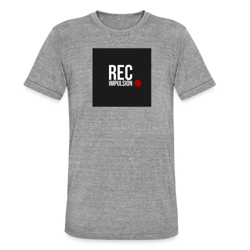 REC - T-shirt chiné Bella + Canvas Unisexe