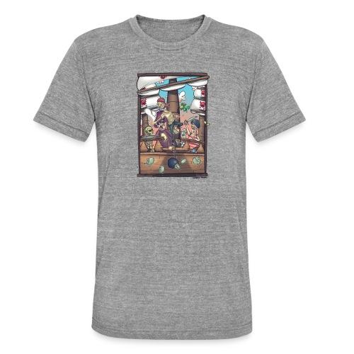 les pirates - T-shirt chiné Bella + Canvas Unisexe