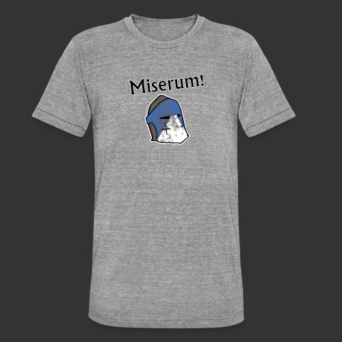 Warden Cytat Miserum! - Koszulka Bella + Canvas triblend – typu unisex