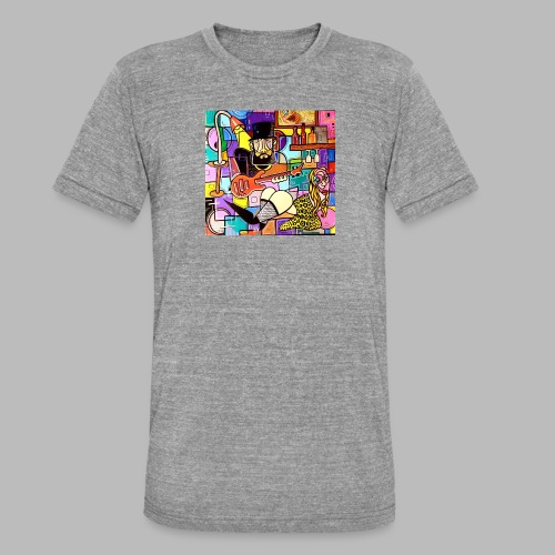 Vunky Vresh Vantastic - Unisex tri-blend T-shirt van Bella + Canvas