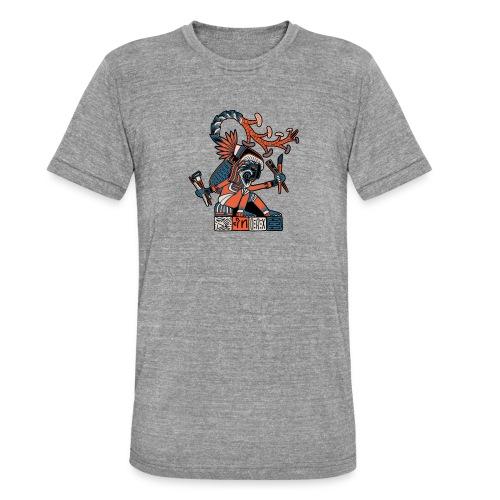 MAESTRO MEZCALERO PREHISPÁNICO - Camiseta Tri-Blend unisex de Bella + Canvas