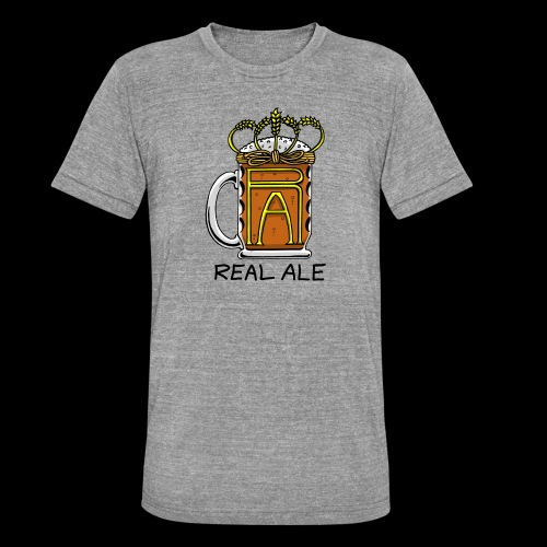Real Ale - Unisex Tri-Blend T-Shirt by Bella & Canvas