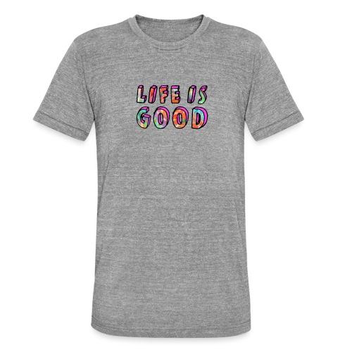 LifeIsGood - Unisex Tri-Blend T-Shirt by Bella & Canvas