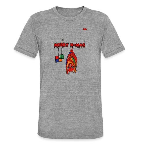 Merry X-MAS - Unisex Tri-Blend T-Shirt von Bella + Canvas