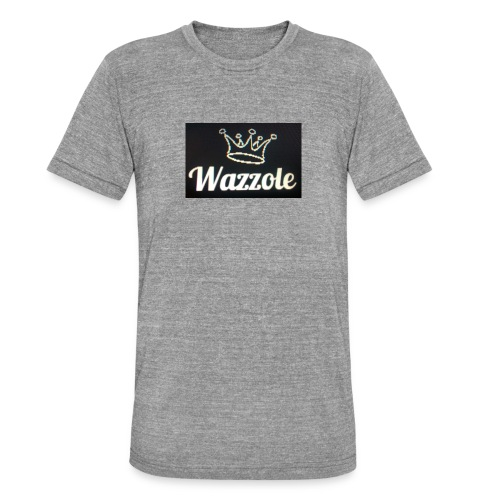 Wazzole crown range - Unisex Tri-Blend T-Shirt by Bella & Canvas