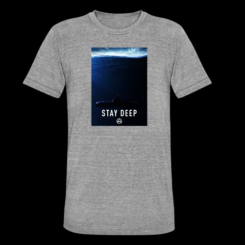 Stay Deep T-shirt - Maglietta unisex tri-blend di Bella + Canvas