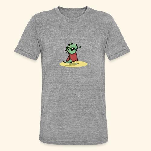 Dragin Needs Help - Unisex tri-blend T-shirt van Bella + Canvas
