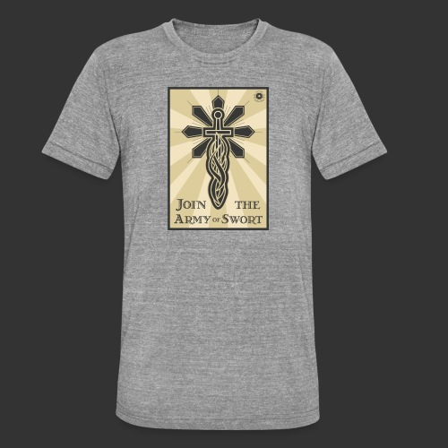 Join the army jpg - Unisex Tri-Blend T-Shirt by Bella & Canvas