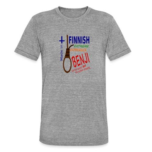 FINNISH-BENJI - Unisex Tri-Blend T-Shirt by Bella & Canvas