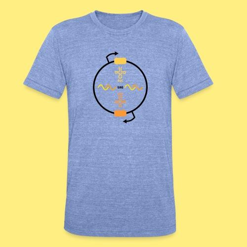 Biocontainment tRNA - shirt men - Unisex tri-blend T-shirt van Bella + Canvas