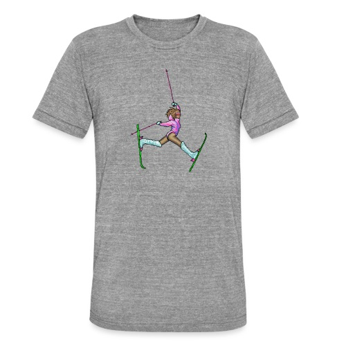 Hot Dogger - Bella + Canvasin unisex Tri-Blend t-paita.